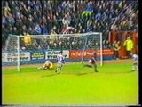 24 October 1995: Reading 0 Bury 2 (abandoned) (League Cup)