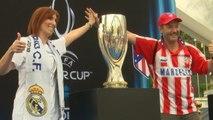 Supercoupe d'Europe - Les fans madrilènes en fête à Tallinn