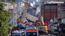 Le reportage de nos envoyés spéciaux au lendemain de l'effondrement du viaduc de Gênes