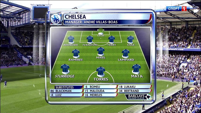 EPL R10 2011.10.29 - Chelsea vs Arsenal - 1st Half