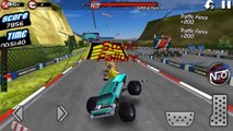 Monster Truck 4x4 Stunt Racer / Monster Truck Cars Games / Android gameplay FHD #4