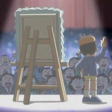 Doraemon (2005) - Se o eloxian, Nobita tamén é un artista