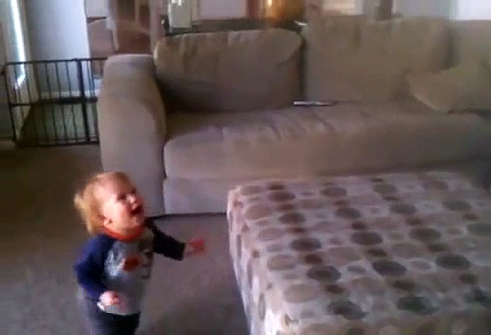 Adorable Kid Playing With Bubbles