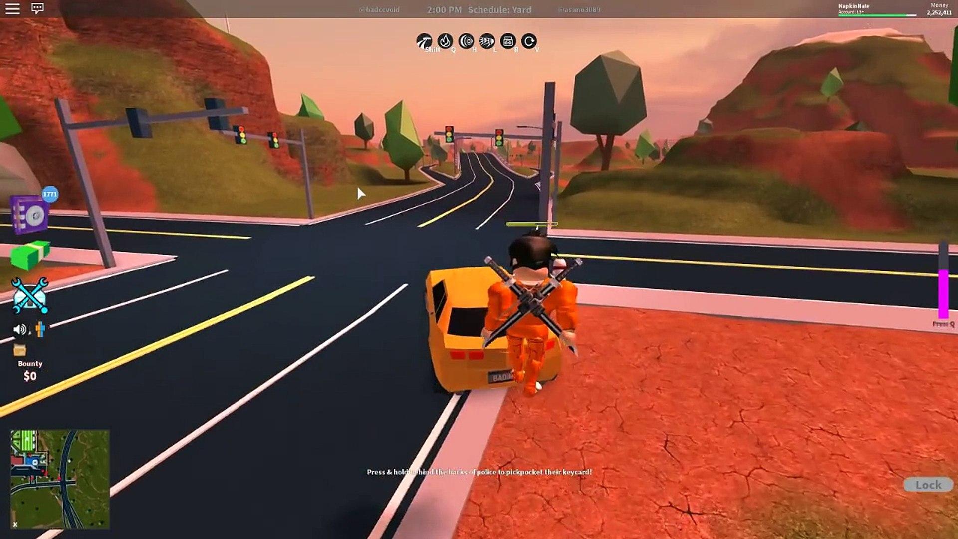 Roblox Jailbreak Napkinnate News New Boss Weapons Update Roblox Jailbreak Video Dailymotion