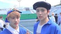 [Pops in Seoul] Unique X Fresh ! THE BOYZ(더보이즈)'s KeePer(지킬게) MV Shooting Sketch