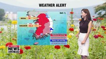Heat continues, rain to bring slight relief to regions in the east and south _ 071618