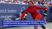 Serena Williams inspira nueva colección de Nike y Off-White