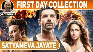 Satyameva Jayate First Day Collection | John Abraham | Manoj Bajpayee