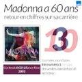 Retour en chiffres sur la carrière de Madonna