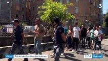 Gênes : les familles des victimes sur place