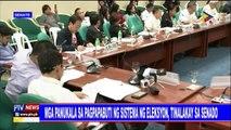 Mga panukala sa pagpapabuti ng sistema ng eleksyon, tinalakay sa Senado