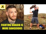 Conor McGregor fighting Khabib is more dangerous than him fighting Floyd in Boxing,Bisping on Till