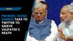 'Today India lost a great son', Rahul Gandhi tweets on Atal Bihari Vajpayee's death