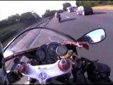 Bike Races Through streets - Fast Bikes Show 2