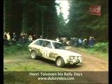 Henri Toivonen his Rally Days