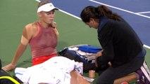 Cincinnati - Wozniacki contrainte à l'abandon