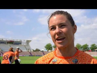Kia Super League interviews with Charlotte Edwards, Tammy Beaumont and Suzi Bates