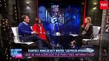 """Evanyely, mamá de Katy Winter: """"Hablé con Carola de Moras y le dije que la perdonábamos"""""""