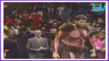 WWE biggest giant, Giant Gonzalez first match