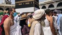 Hadsch nach Mekka: Tausende umrunden Kaaba