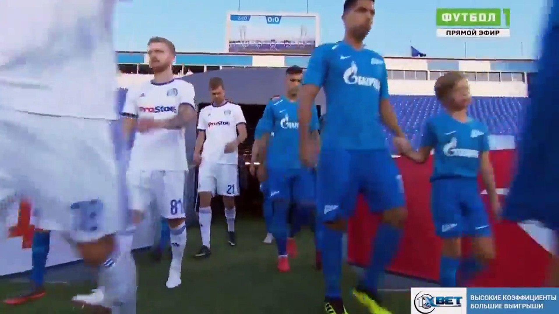 Зенит - Динамо Минск 8-1 - Обзор Матча Лиги Европы 16_⁄08_⁄2018 HD (1)