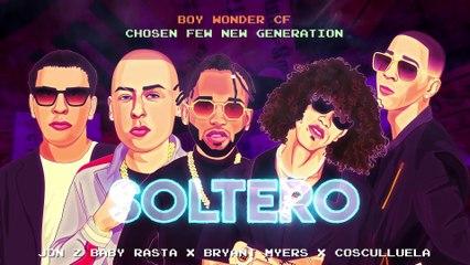 Jon Z ❌ Baby Rasta ❌ Bryant Myers ❌ Cosculluela ❌ Boy Wonder CF - Soltero [Video Lyric]