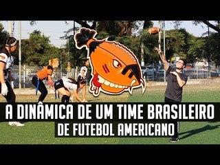 Visitando um Time de Futebol Americano do Brasil - Caniballs FC