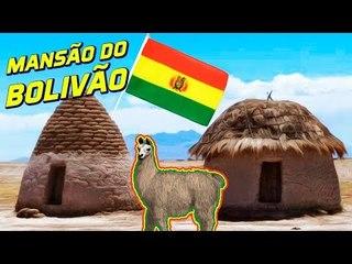 A CASA DO BOLÍVIA - ELE MORA NUMA MANSÃO?