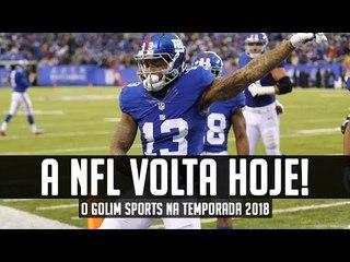 A NFL VOLTA HOJE - Expectativas para o canal nessa temporada