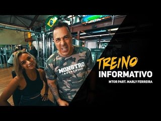 TREINO DE COXA INFORMATIVO - MTOR COM MARLY FERREIRA