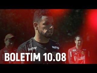 BOLETIM + BRUNO PERES: 10.08 | SPFCTV
