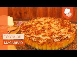 Torta de macarrão — Receitas TudoGostoso