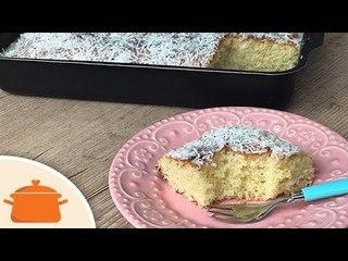 Pão Fácil de Leite Condensado - Parece bolo mas é pão