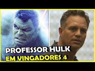"""VINGADORES 4: É esse o fim do Bruce Banner? """"Hulk não precisa dele"""""""
