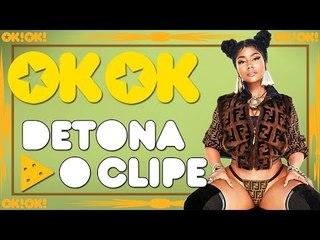 Nicki Minaj queimando no deserto  - OK!OK! Detona o Clipe