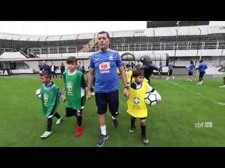 Festival de Futebol do CBF Social faz sucesso na Vila Belmiro