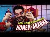 QUAIS SÃO OS MELHORES GAMES DO HOMEM-ARANHA?