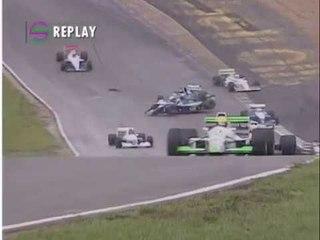 1992 British F2 crash at Brands Hatch