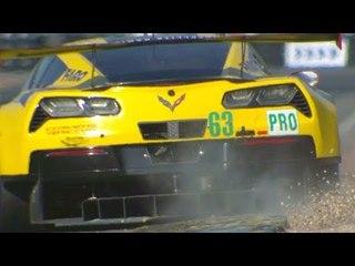 Corvette Crash at Le Mans 2017 Official Review