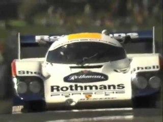 BRACE for the G's!! Johnny Dumfries Porsche 956 In-Car