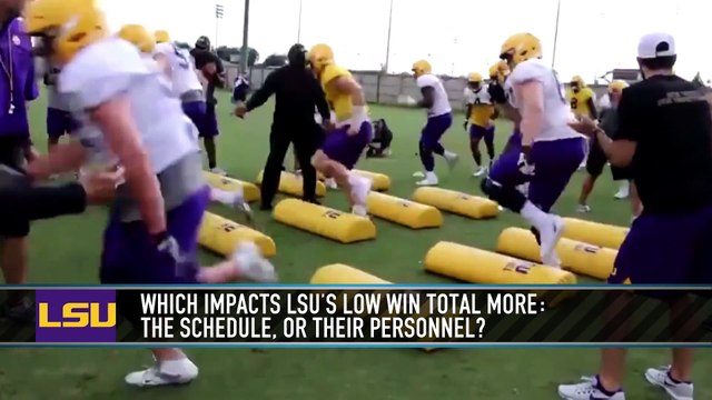Why Is the LSU Win Total So Low?