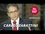 TV 247 ENTREVISTA CARLOS ZARATTINI -  líder do partido na Câmara dos Deputados do Brasil