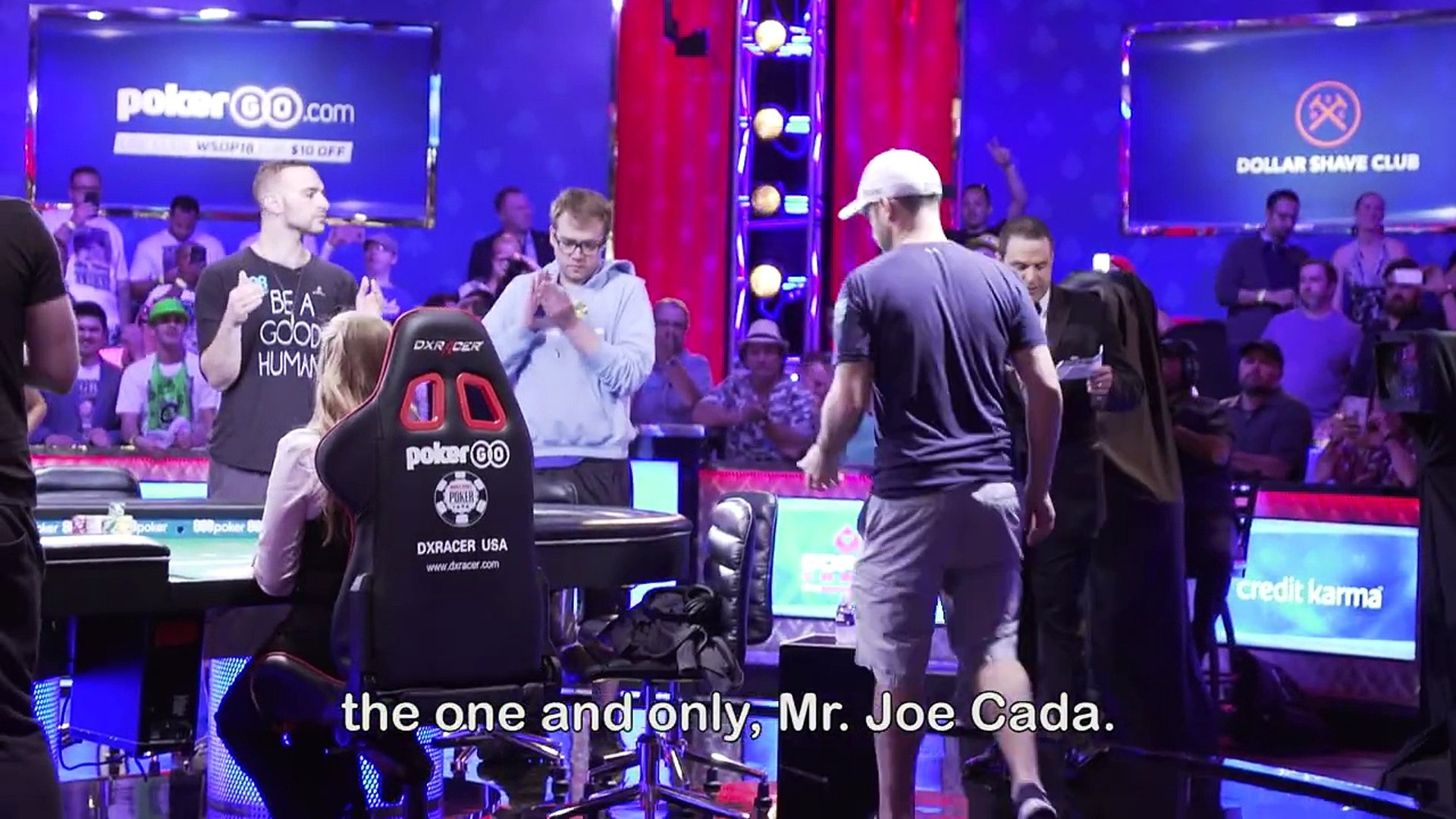 Joe Cada is in the final six of the World Series of Poker (WSOP) Main Event for the second time in 1