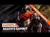 The Walking Dead + Death's Gambit: Gameplay ao vivo!