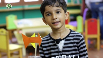 Kid scientist build Wind Vane