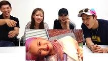 K-POP IDOLS REACT TO LANKYBOX - K-POP WITH ZERO BUDGET! (KARD)