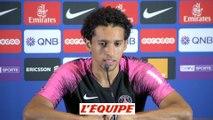 Marquinhos «Une saison importante pour Neymar» - Foot - L1 - PSG