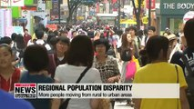 About 40 % of municipalities in Korea are at risk of extinction largely due to massive outflow of youth population