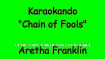 Karaoke Internazionale - Chain of Fools - Aretha Franklin - Lyrics