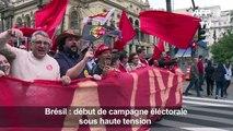 Lula en prison, début de campagne sous haute tension au Brésil